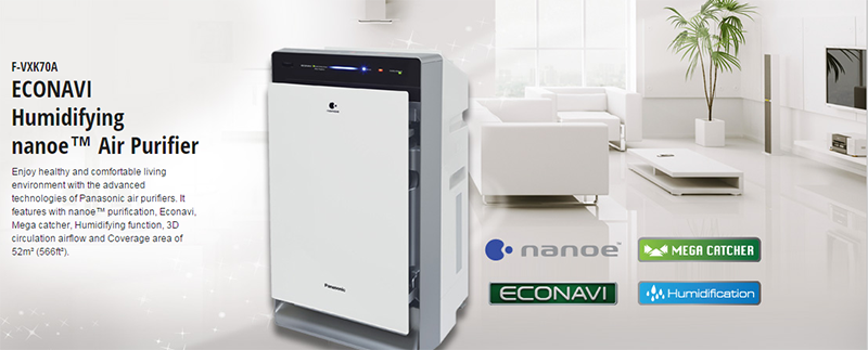Panasonic Nanoe Air Purifiers